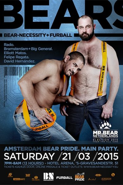 Mr. Bear Netherlands 21 March 2015
