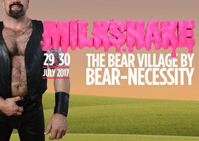 BEAR VILLAGE AT MILKSHAKE 29-30 JULY 2017