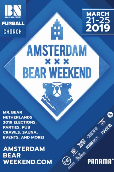 Mister Bear Netherlands Election 2019