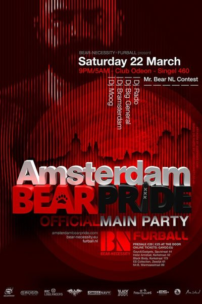 Amsterdam Bear Pride 22 March 2014
