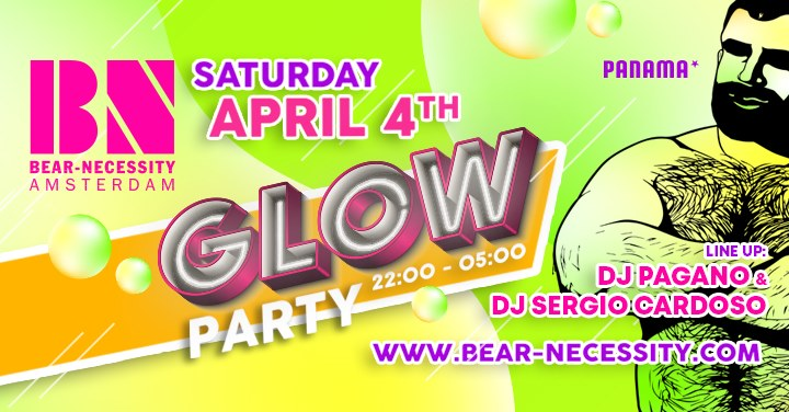 Bear-Necessity Glow Party