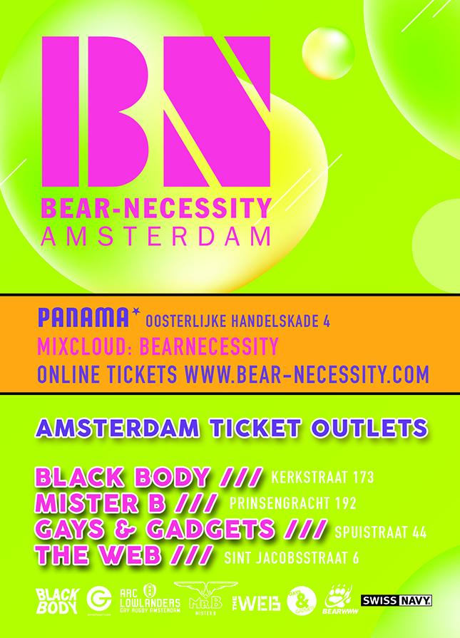 BN Bear Party Amsterdam